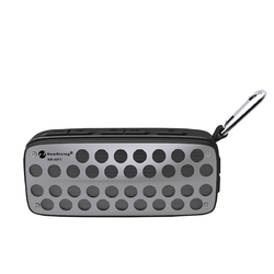 Portable Outdoor Wireless bluetooth Speaker IPX4 Waterproof FM Radio TF Card Speaker with Mic