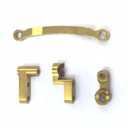 1 Set Himoto 1/18 Rc Car Spare Parts Aluminum Alloy Servo Saver + Steering Joint