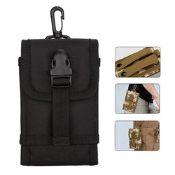 Outdoor Portable Tactical Storage Waist Bag for iPhone Xiaomi Mobile Phone Under 5.5 Inches Non-original