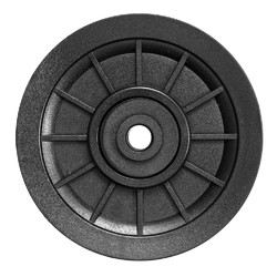 105mm Nylon Bearing Pulley Wheel Cable Fitness Equipment Replacement Accessories