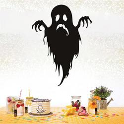 Creative Halloween Ghost PVC Waterproof Wall Sticker Removable Vinyl Art Mural Decoration Stickers Environmental Protection Halloween Wall Sticker Window Home Decoration Decal Decor
