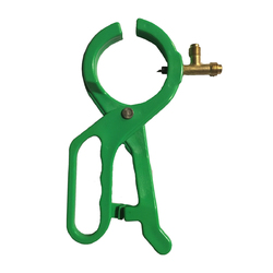2 In 1 Refrigerant Side Punch AC Oil Charge Can Tap Opener for R134A R22 & R12