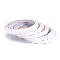 Category: Dropship Tapes, Adhesives & Sealants, SKU #1342437, Title: 5Pcs 7mm×20m Double Sided Super Strong Adhesive Tape Roll Office Stationery Double Sided Tape