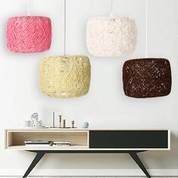 E27 Modern Pendant Light Rope Ceiling Lamp Chandelier Home Fixture Decoration Lamp Cover