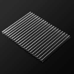 20Pcs 10mmx150mm Borosilicate Glass Tubes Clear Blowing Tubing 2mm Wall