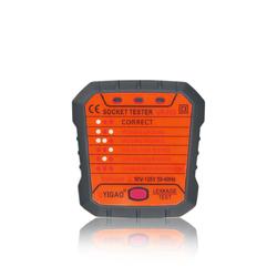 Electrical Outlet Tester Socket Receptacle Test Tool UK/EU Plug