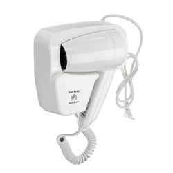 1400W 220V Home Hotel Bathroom Powerful Wall Hanging Electric Hair Dryer