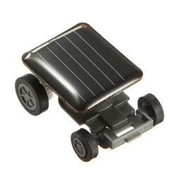 The World s Smallest Mini Solar Powered Toy Car Racer