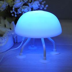 DIY LED Jellyfish Lamp Desk Lamp Small night light