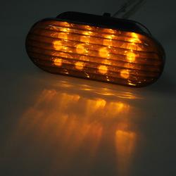 LED Side Marker Turn Light Strobe Lights for VW Jetta Passat