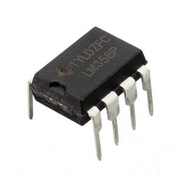 1 Pc LM358P LM358N LM358 DIP-8 Chip IC Dual Operational Amplifier