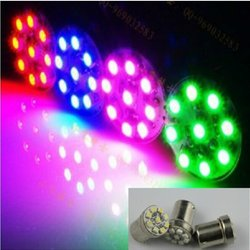 1210 BA15S 9 SMD 1156 LED Turn Signal Lights Automobile Car Lamp Wedge Motorcycle Bulb