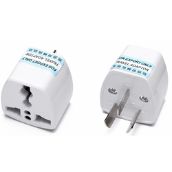 China AUS to Universal AC adapter 3 pin power plug travel