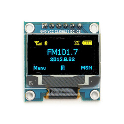 0.96 Inch 6Pin 12864 SPI Blue Yellow OLED Display Module For Arduino