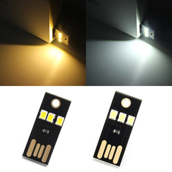 0.2W White/Warm White Mini USB Mobile Power Camping LED Light Lamp