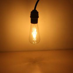 E27 135mm ST58 4W Retro LED Filament Edison Lamp Light Bulb 220V