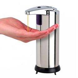 Stainless Infrared Automatic Sensor Hand Sanitizer Liquid Soap Dispenser for Bathroom Kitchen