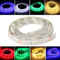 1M 5050 SMD 60LED Flexible LED Strip Light Red/Green/Blue Waterproof 12V