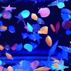 Fish Tank Landscape Glow Stones Aquarium Luminous Stone Decorate Fish Turtle Tank