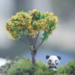 Mini Resin Trees Micro Landscape Decor Garden DIY Decoration