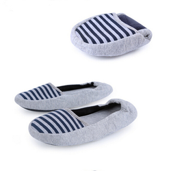 Pregnant Women Mother Fashional Breathable Navy Stripe Women Casual Flat Shoes