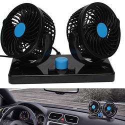 12V 360 Degree All Round Mini Air Cooling Fan adjustable Portable Cooler Summer