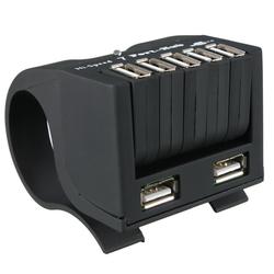 High Speed 7 Ports USB 2.0 External Hub Adapter for PC Laptop Notebook