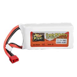 ZOP Power 3S 11.1V 2200mAh 25C Lipo Battery T Plug
