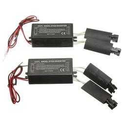 2X Black 12V Spare CCFL Angel Eyes Inverter For BMW E36 E46 E53 E83