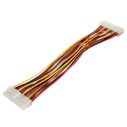 24Pins Motherboard Male to Female 24Pins Clutch Power Adapter Cable Lead Wire