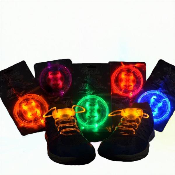 LED Shoelace Night Running Light Up Safety Shoestring Multicolor Luminous Shoelace
