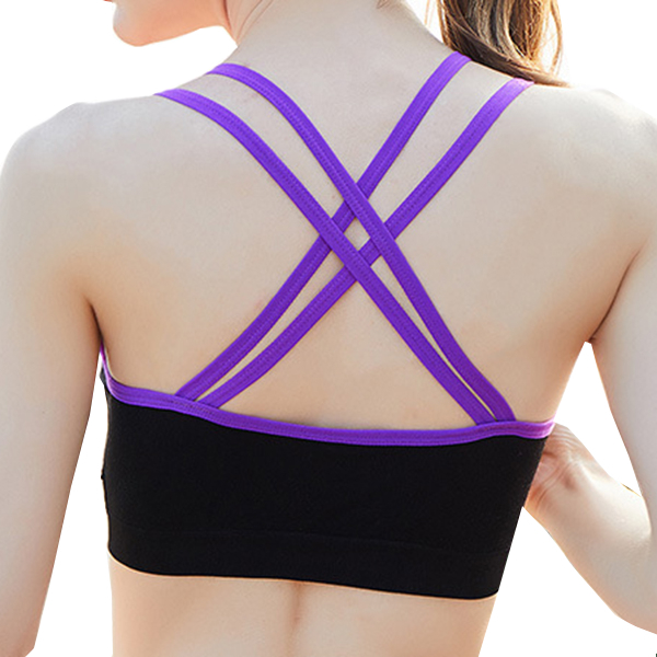 Cosy Breathable Bandeau Sports Yoga Bra