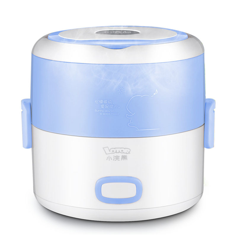 Lotor HM-2016 Heating Lunch Box 1.2L Mini  for 1-2 Person Schools Offices Hospitals Traveller Lunch Box