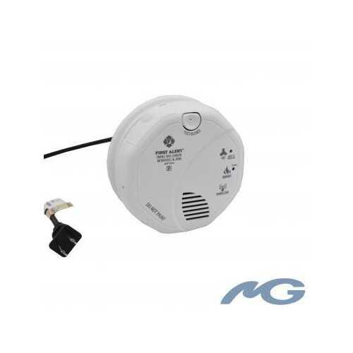 BBNESmokeDualCam - Wi-Fi Hardwired Smoke Detector with Night Vision