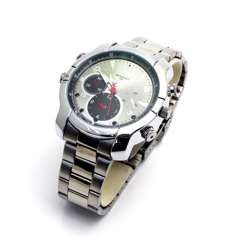 NightWatchSilver - Silver Watch with Night Vision