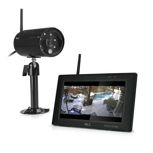 7 Inch Touch Screen System with Camera