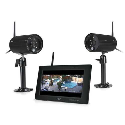 7 Inch Touchscreen System 2 Cameras
