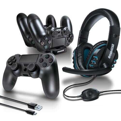 6 PIECE ACCESSORY KIT FOR PS4