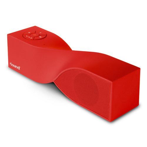Twist Mini Bluetooth Speaker - Red