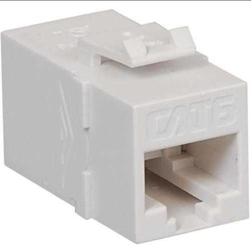 CAT 6 Modular Coupler White