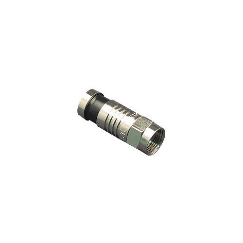 CONNECTOR F-TYPE RG6 100PK