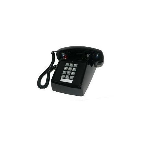 250000-VBA-27M Desk w/ Message - Black