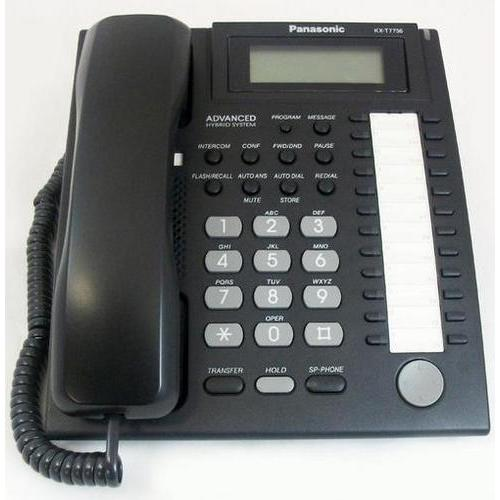 24 Button Speakerphone 3 Line LCD Black