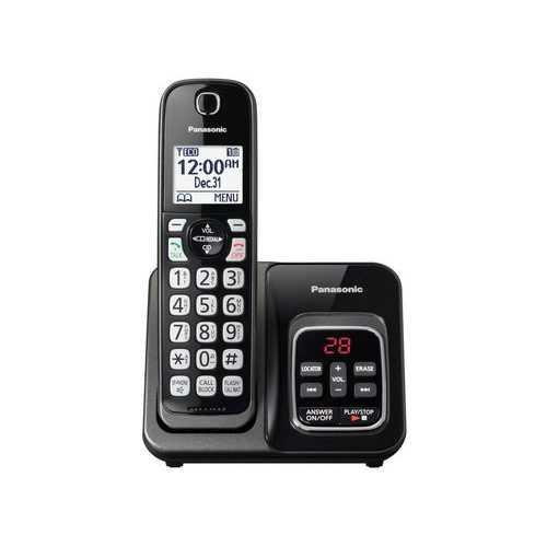 1HS Cordless Telephone ITAD Met Black