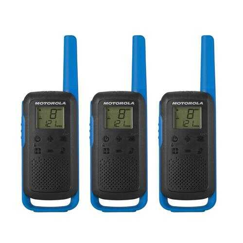 3 Pack - Talkabout T270TP Black & Blue