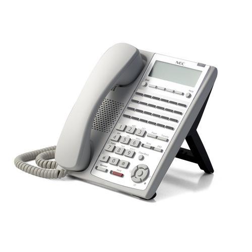 BE110271 24-Button Full-Duplex Tel (WH)