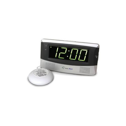 Sonic Boom Alarm Clock - WHITE