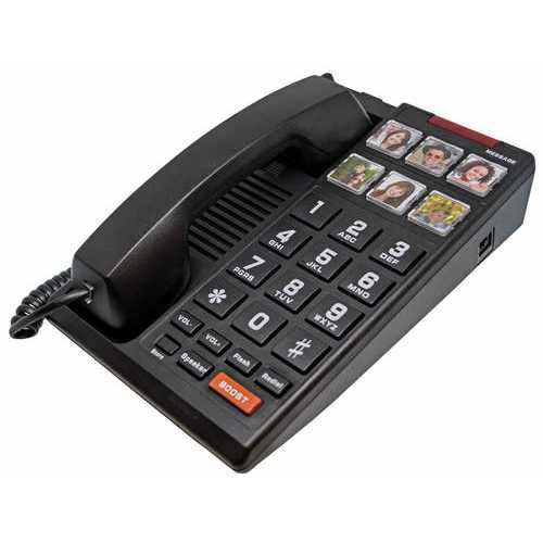 Big Button 6-Photo Speakerphone HA110S6D