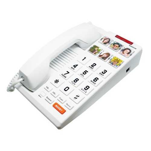 Big Button 6-Photo Speakerphone HA510S6D