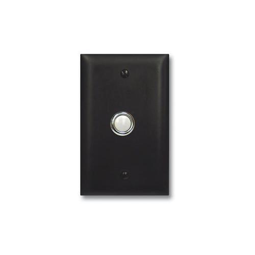 Door Bell Button Panel in Bronze